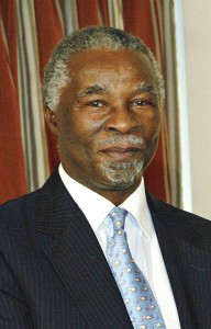 Thabo Mbeki - doesn't qualify on Zarr's strict Leadership test.