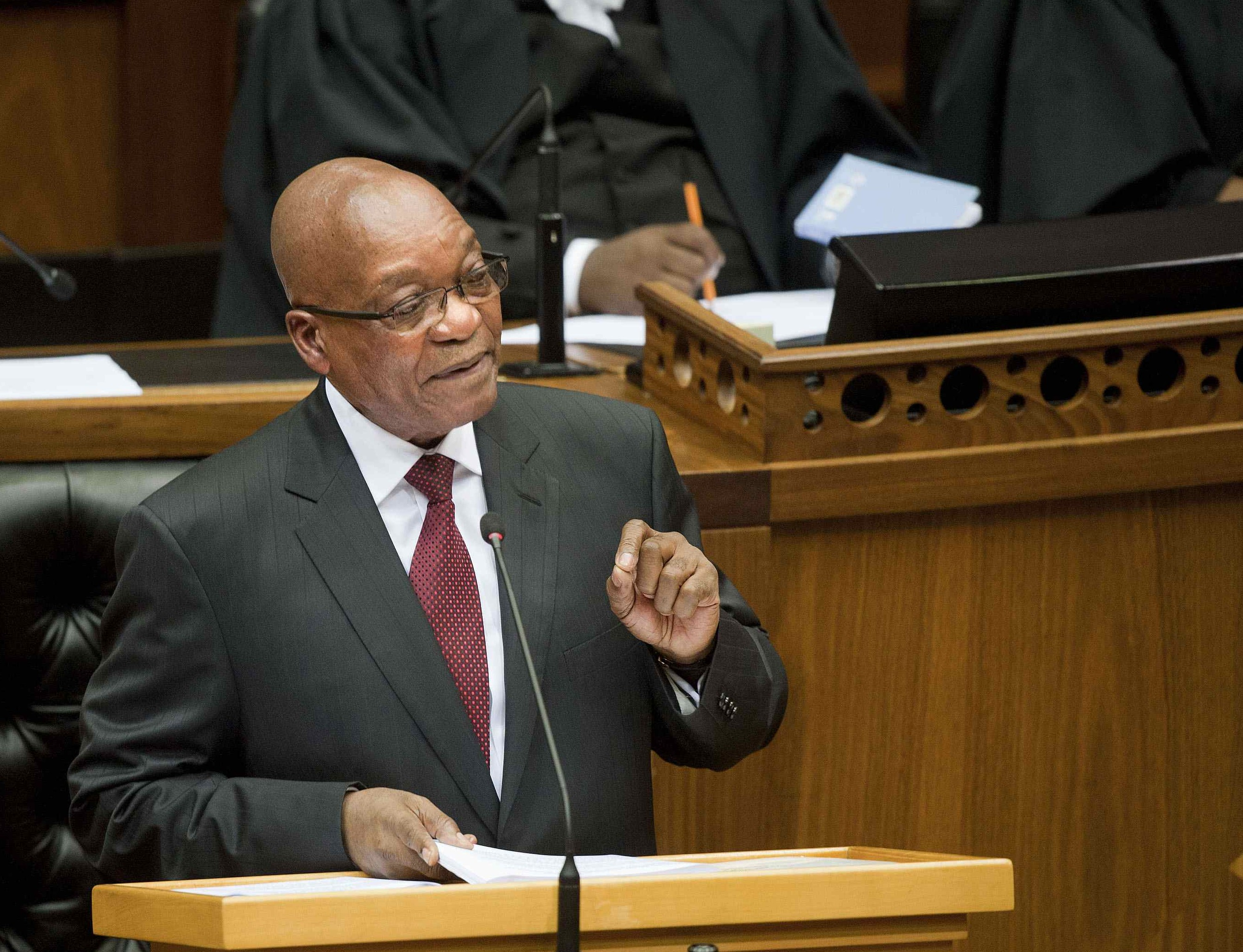 President Zuma's State of the Nation address (in full)