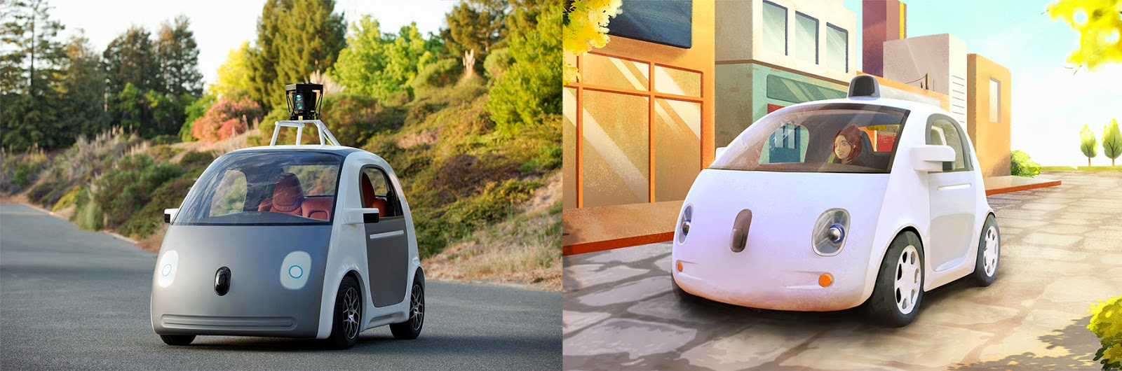Google: Just press go: designing a self-driving vehicle