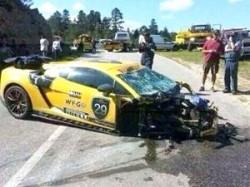Rogue Rally crash