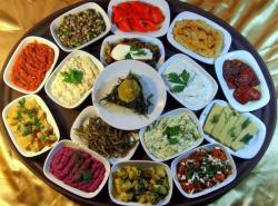 Turkish meze
