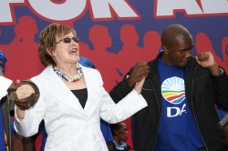 Mmusi Maimane and Helen Zille dancingPhoto credit: The Democratic Alliance / Foter / CC BY-SA
