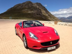 Alleged Ponzi kingpin Cobus Kellermann has an obsession for fast cars - including this Ferrari