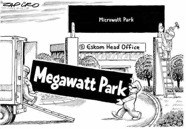 Zapiro says it best. Republished with permission from zapiro.com