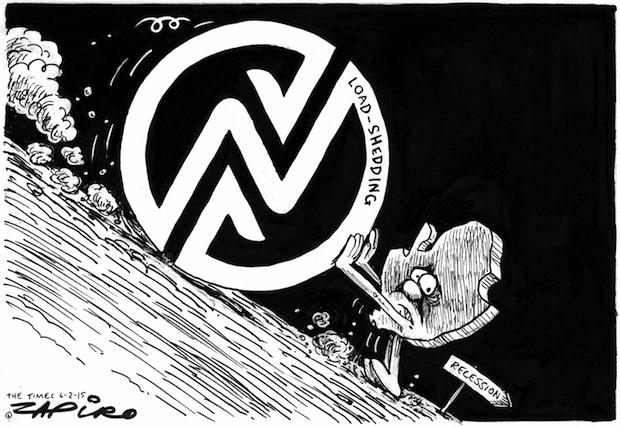 Zapiro - eskom load shedding - BizNews com