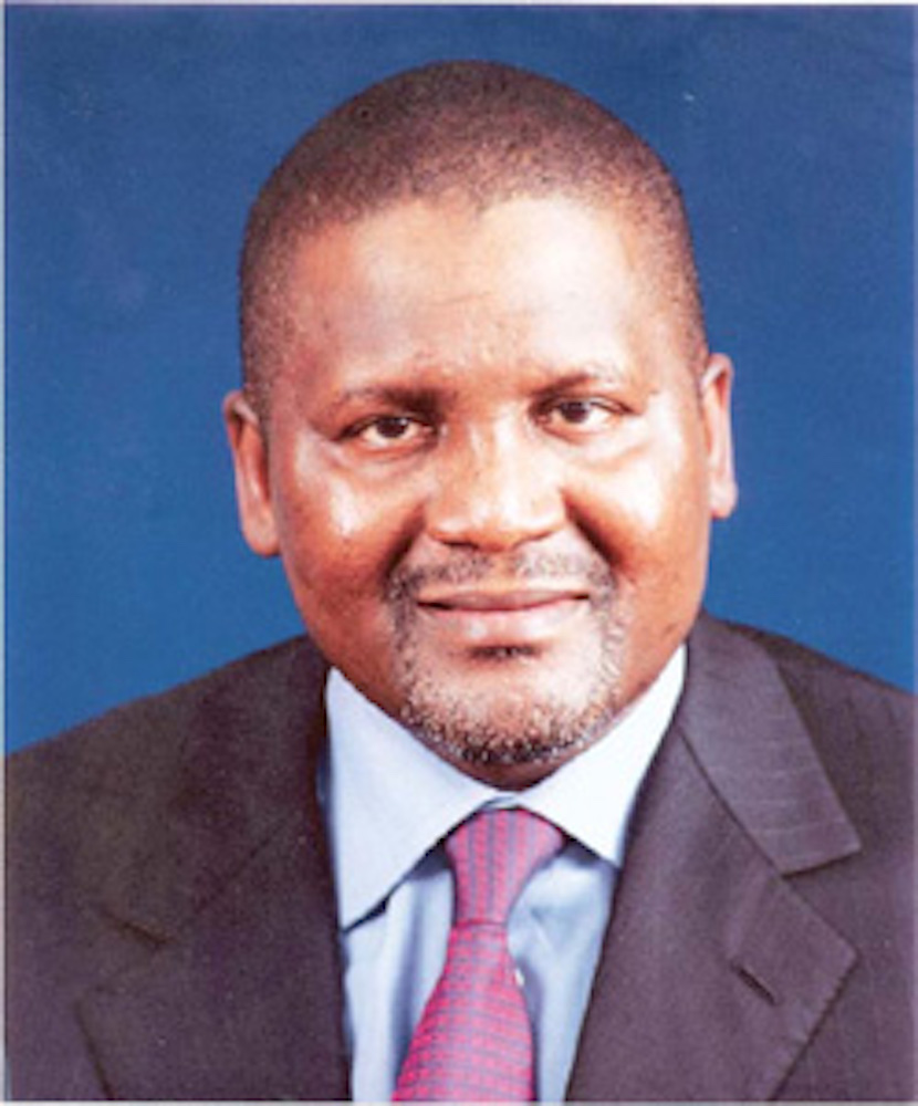 Africa's richest, Aliko Dangote, expanding his cement empire