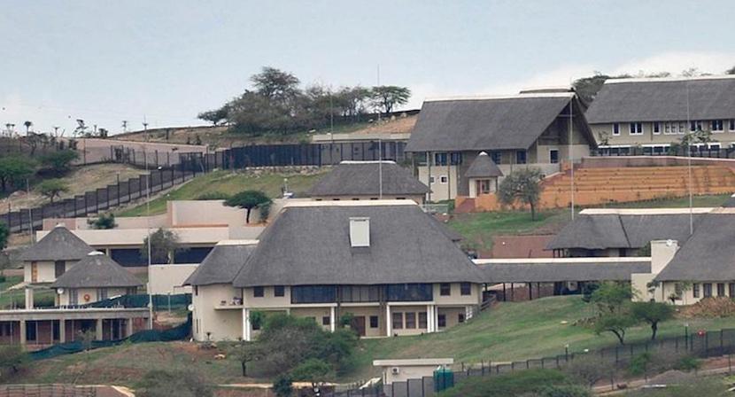 Nkandla homestead, KwaZulu-Natal