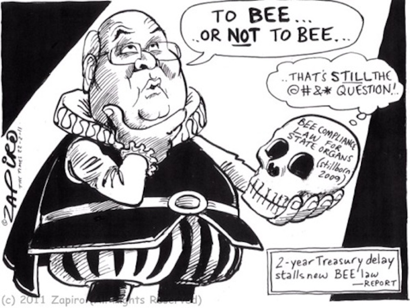 © 2012 Zapiro (All Rights Reserved)  Printed/Used with permission from www.zapiro.com