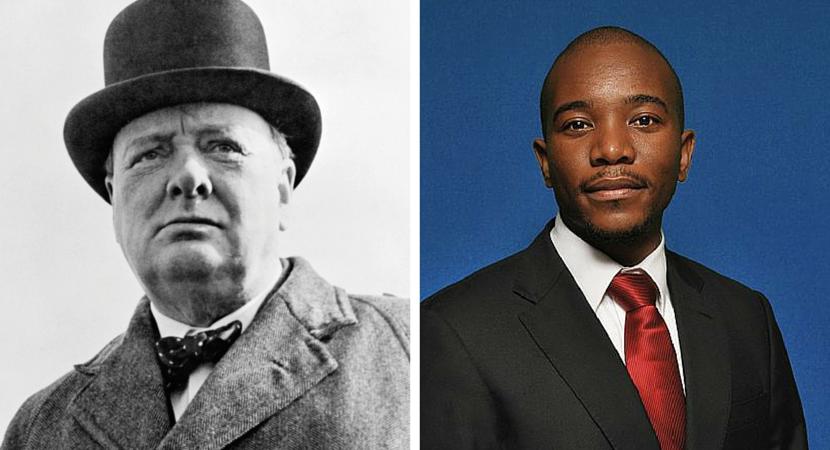 Cees Bruggemans: Winston Churchill, Musi Maimane on Socialism – same, same
