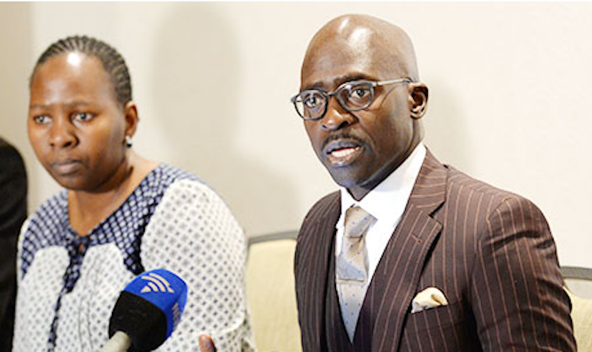 Malusi Gigaba - South Africa's Minister of Home Affairs