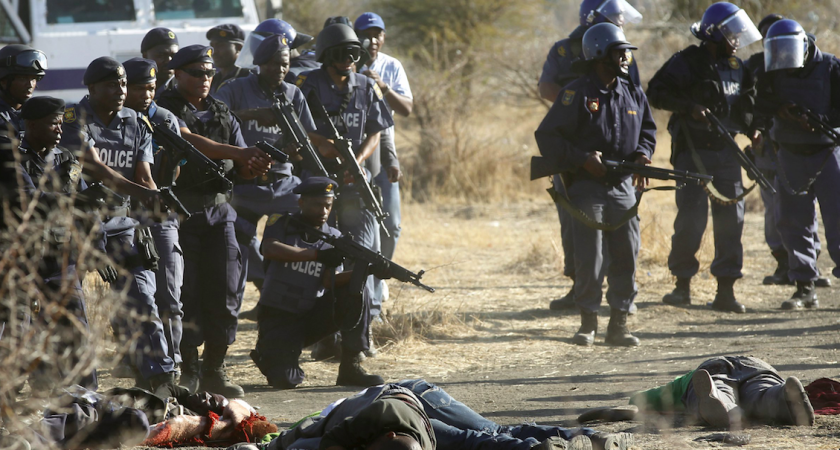 Marikana: spotlight on growing police brutality in SA