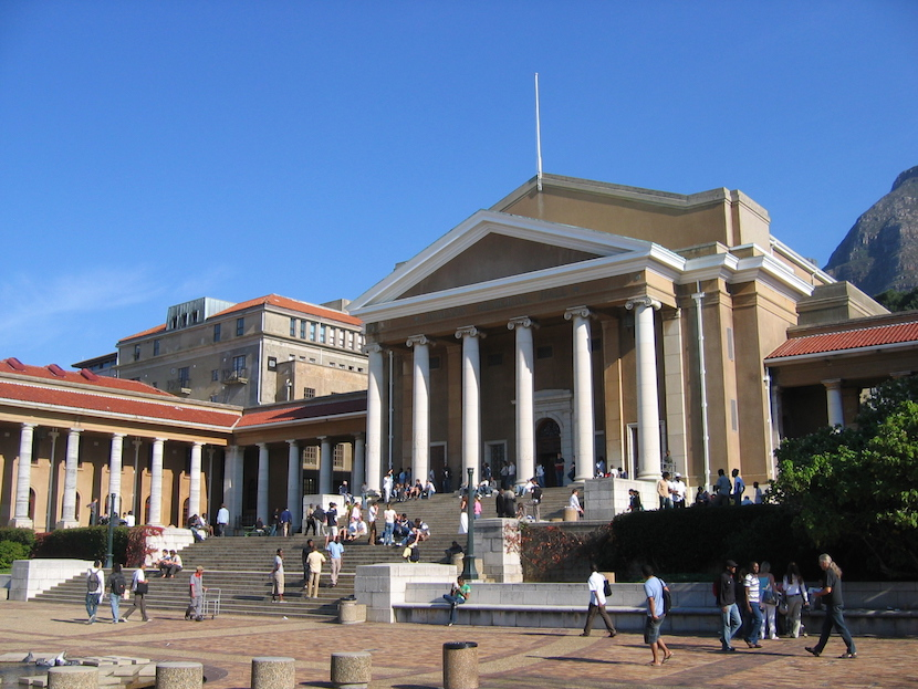 The Jammie Square, University of Cape Town