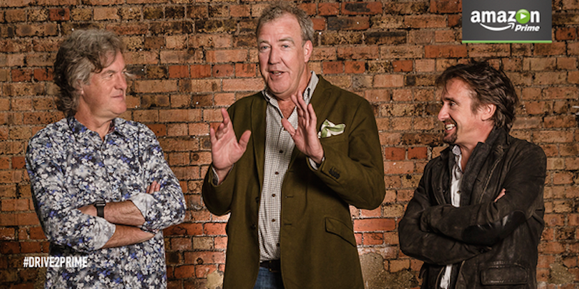Talent triumphs: Amazon pays $250m to seal deal for Clarkson, Top Gear team