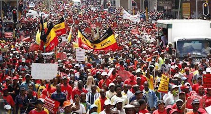 Cosatu joins SACP in calling on 'negligent' Zuma to resign