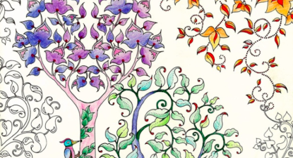 Breathe in, breathe out, alter your brain waves with colouring books