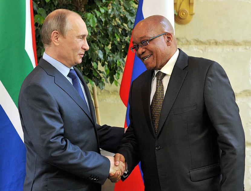 Jacob Zuma_Putin