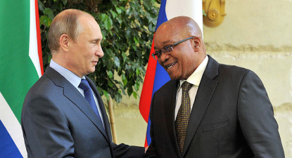 Shawn Hagedorn: Can the Putin-Zuma bromance survive? It's complicated
