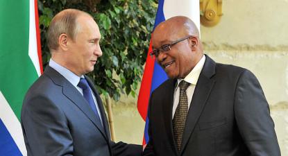 Shawn Hagedorn: Can the Putin-Zuma bromance survive? It's complicated
