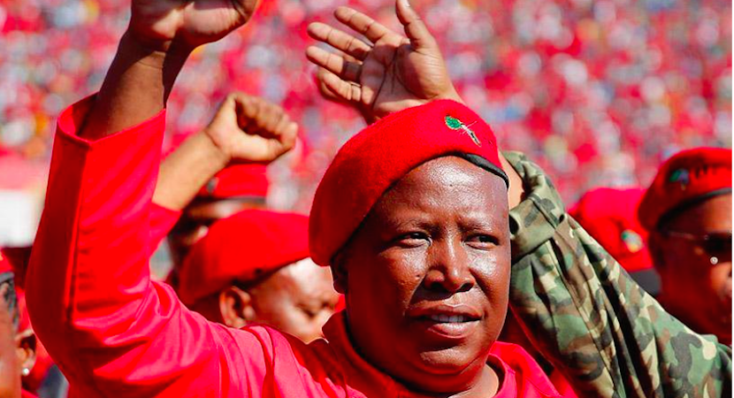 Malema: Unchecked Zuma = Failed SA state
