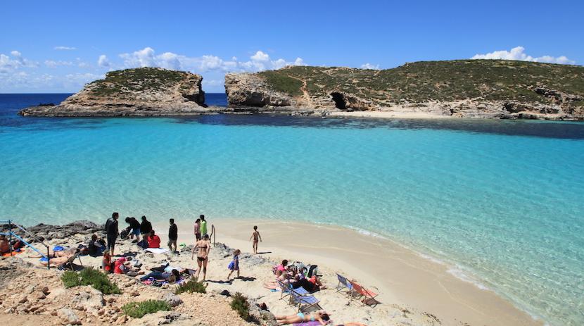 Malta_Ghajnsielem_Cominotto_Blue_Lagoon