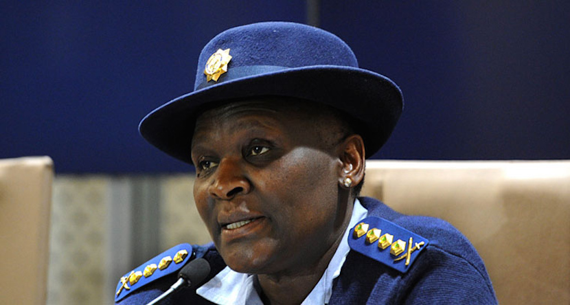 Riah Phiyega, National police commissioner of the South African Police Service