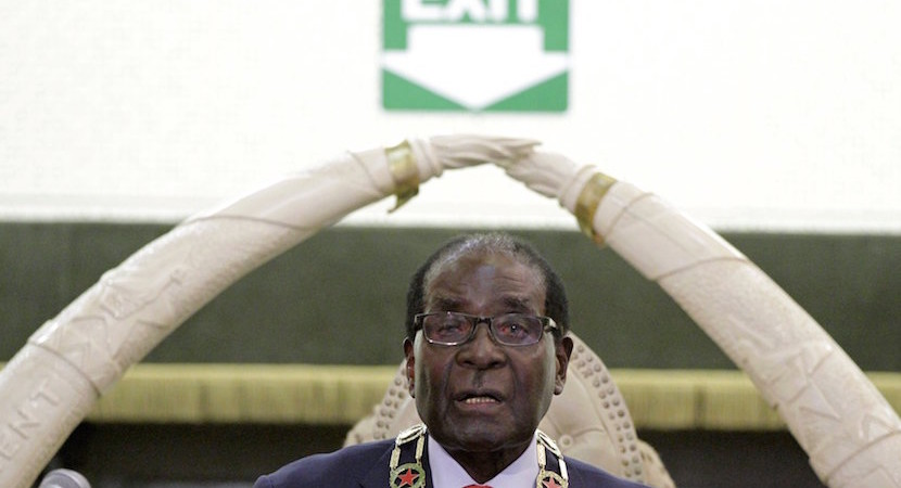 Dead wrong: Mugabe promises Zim will get China-driven economic growth