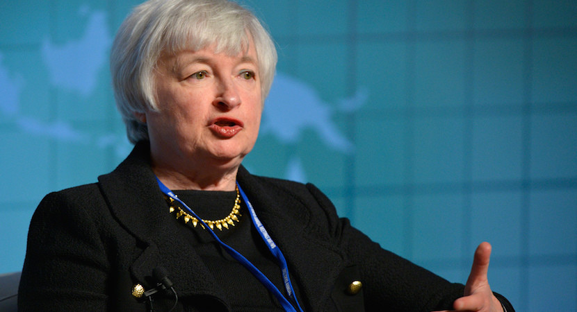 Market turmoil forces Yellen's hand. Fed 'delays' rate hikes, won't 'abandon'.