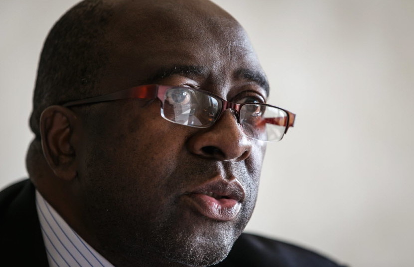 Former South African Finance Minister Nhlanhla Nene