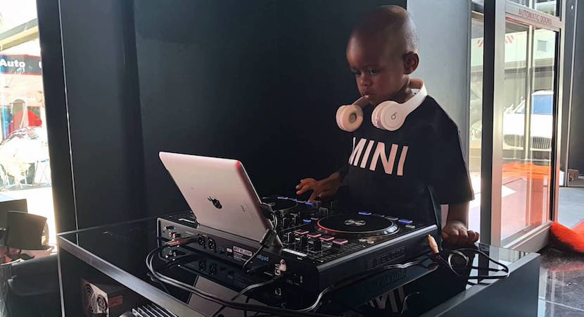 WATCH: SA's young sensation – DJ Arch Jnr (3) 1.5m Youtube views and rising