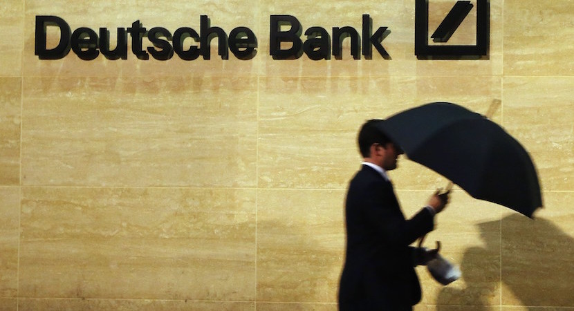 Deutsche Bank shares tumble on R100bn loss, ending 70-year dividend stream
