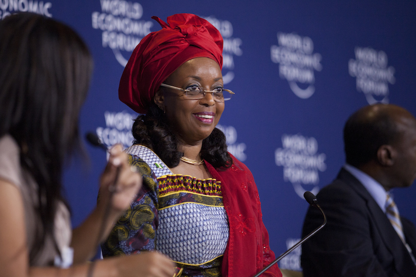 ADDIS ABABA/ETHIOPIA, 09-11 MAY 2012 - Diezani K. Alison-Madueke, Minister of Petroleum Resources of Nigeria, captured during Women as Africa's Way Forward Session at the World Economic Forum on Africa held in Addis Ababa, Ethiopia, 9-11 May, 2012.
