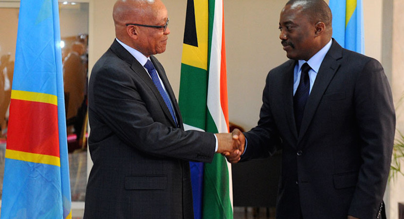 Zuma makes DRC visit, two weeks later a once-bitten IDC invests there again