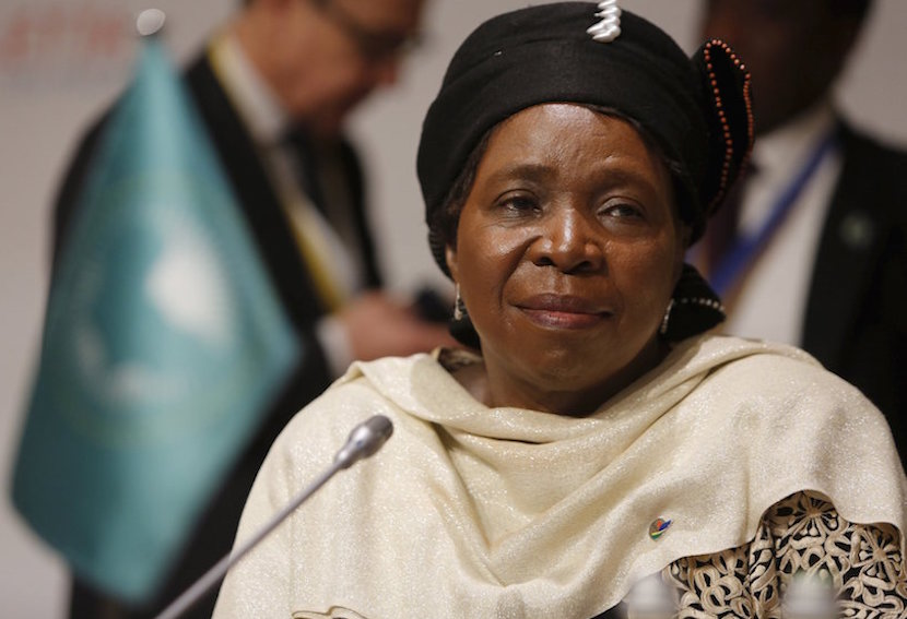Nkosazana Dlamini-Zuma, chairperson of the African Union Commission, attends the Valletta Summit on Migration in Valletta, Malta, November 12, 2015. REUTERS/Darrin Zammit Lupi MALTA OUT. NO COMMERCIAL OR EDITORIAL SALES IN MALTA