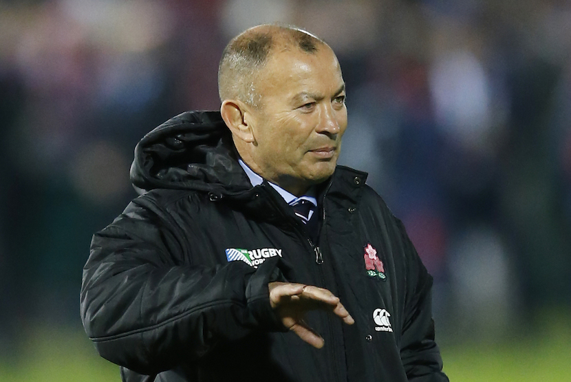 Rugby Union - United States of America v Japan - IRB Rugby World Cup 2015 Pool B - Kingsholm, Gloucester, England - 11/10/15 Japan head coach Eddie Jones before the match Action Images via Reuters / Andrew Boyers Livepic