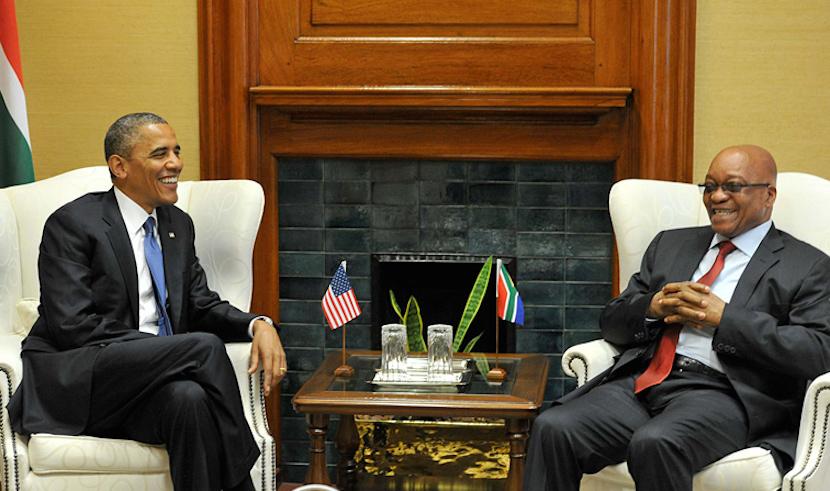 Zuma - Obama Visit