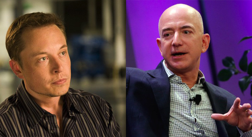 Jeff Bezos now leading Elon Musk in Space Race with first re-usable rocket