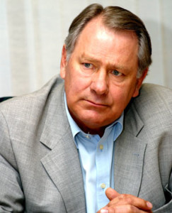 The late Frederik Van Zyl Slabbert, a talented politician and close friend of RW Johnson's.
