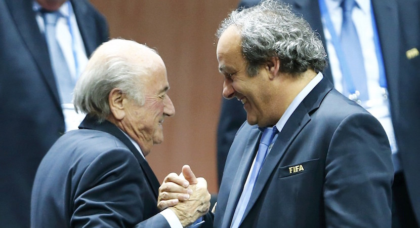"FIFA scandal: Blatter, Platini get 8yr bans, fines. ""Will Fight""."