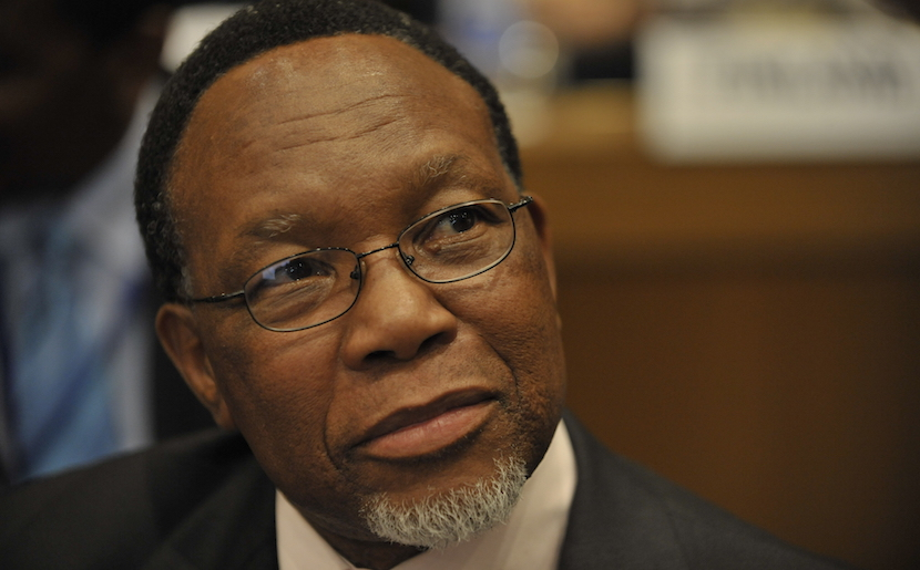 Kgalema Motlanthe, former President of South Africa.