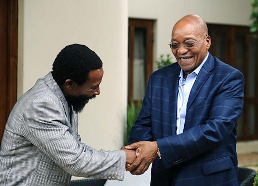 File Photo: President Jacob Zuma meets with abaThembu King Buyelekhaya Dalindyebo, December 2014. Flickr.com.