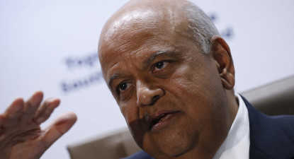Gordhan: Budget will inspire confidence in SA. Coy on nuclear.