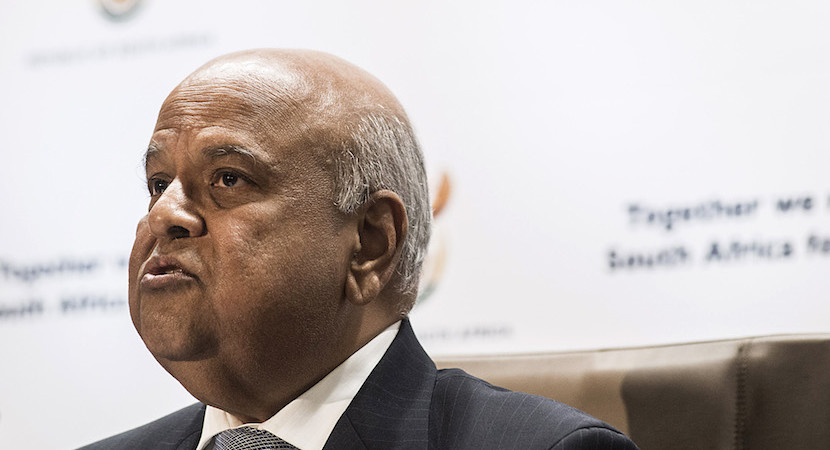 Corrupt people are stealing before our very eyes, says Pravin Gordhan