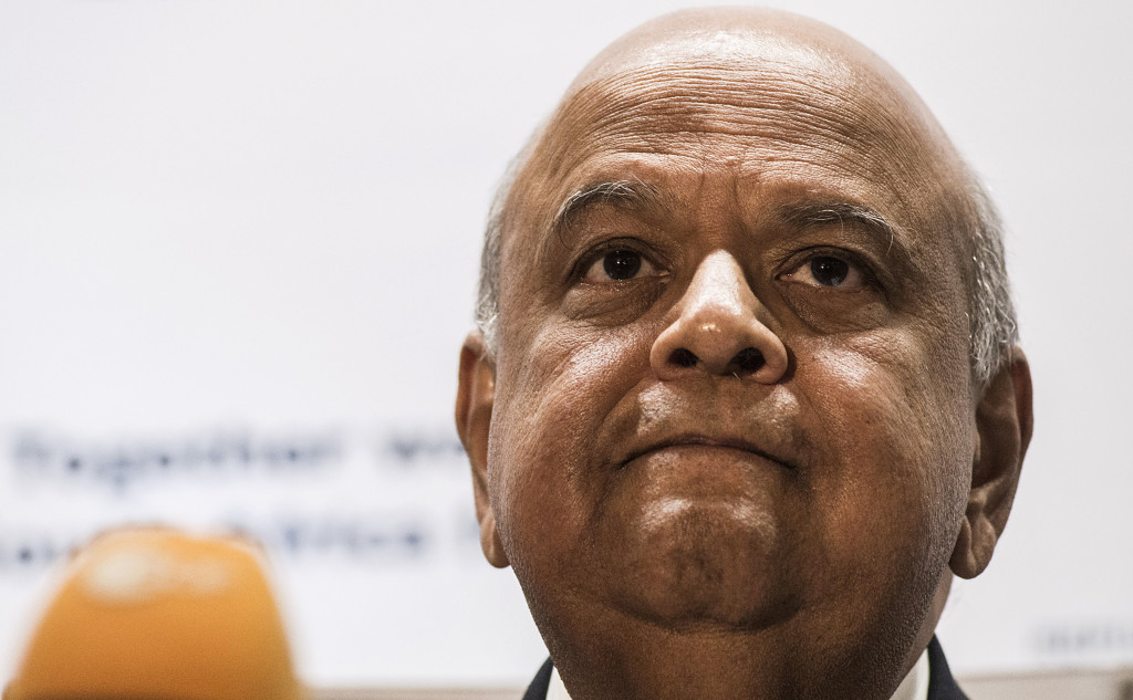 Pravin Gordhan, South Africa's finance minister, has until Wednesday to answer 27 questions sent to him by the Hawks on Sars' 'rogue unit'. Photographer: Waldo Swiegers/Bloomberg