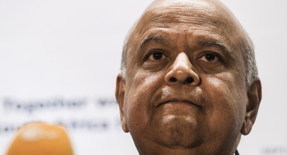 It's fighting talk as no-nonsense Gordhan tells grumbling Guptas: Meet me in court