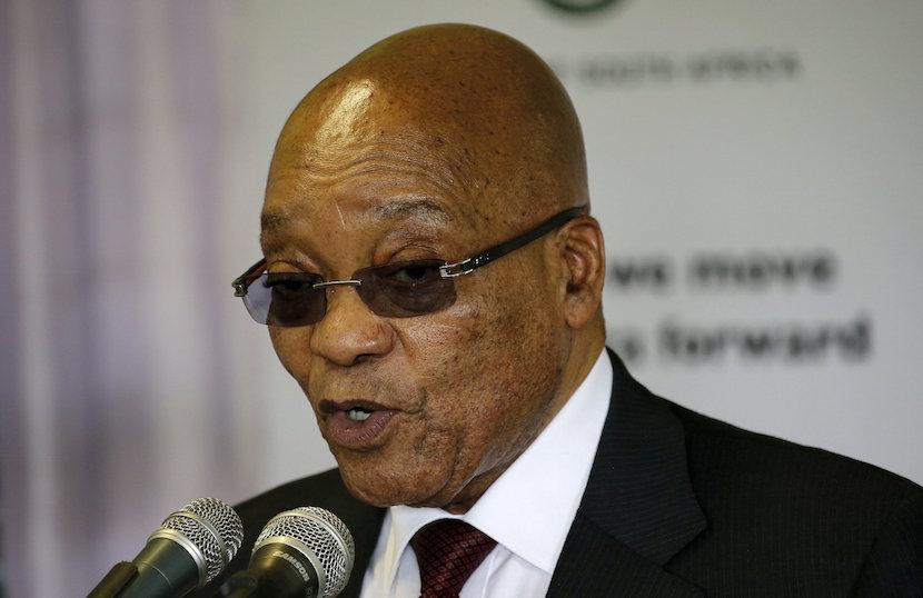 SA President Jacob Zuma. REUTERS/Siphiwe Sibeko