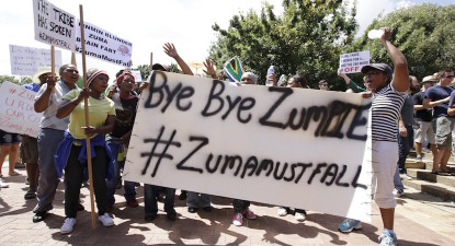 Anti-Zuma marchers shift attention to 'state-captured' Limpopo Treasury