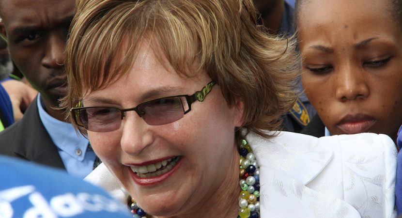 Meet the real Helen Zille: DA's Iron Lady lifts veil at Christian gathering. Fascinating.