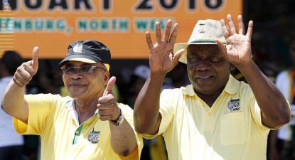 Difference between Ramaphosa and Zuma: a small matter of R20 to the Dollar