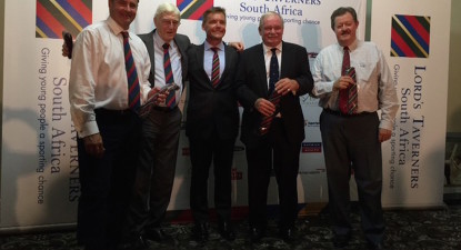 Ian Kilbride: The launch of Lords Taverners South Africa