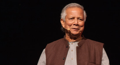 Muhammad Yunus: Break slavery's legacy. Don't ask for a job. Make your own.